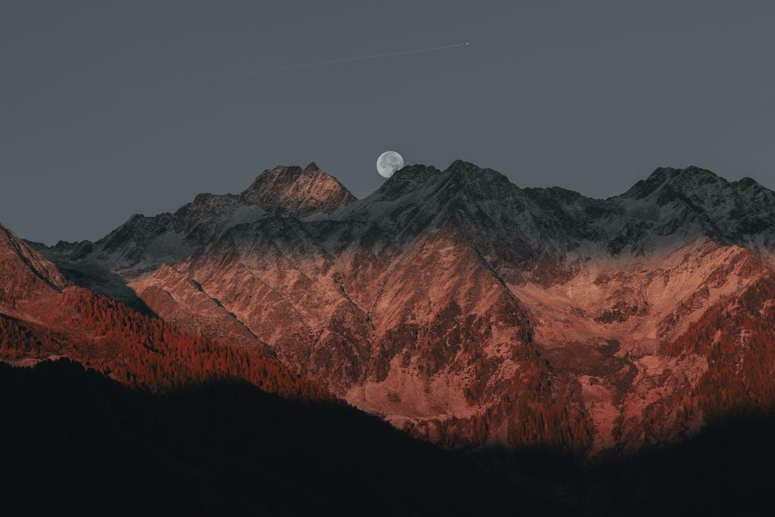 fotografia prírody, horské vrcholy, hory