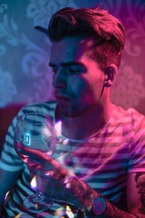 Ingyenes stockfotó alkoholos ital, álló kép, arc, bor témában