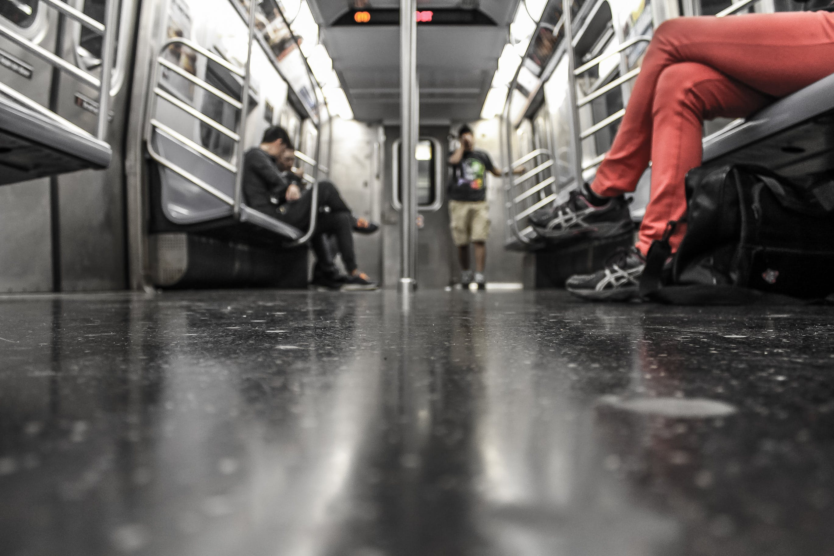 Free stock photo of people, train, public transportation, underground