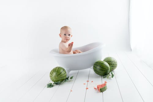 Baby In Bathtub