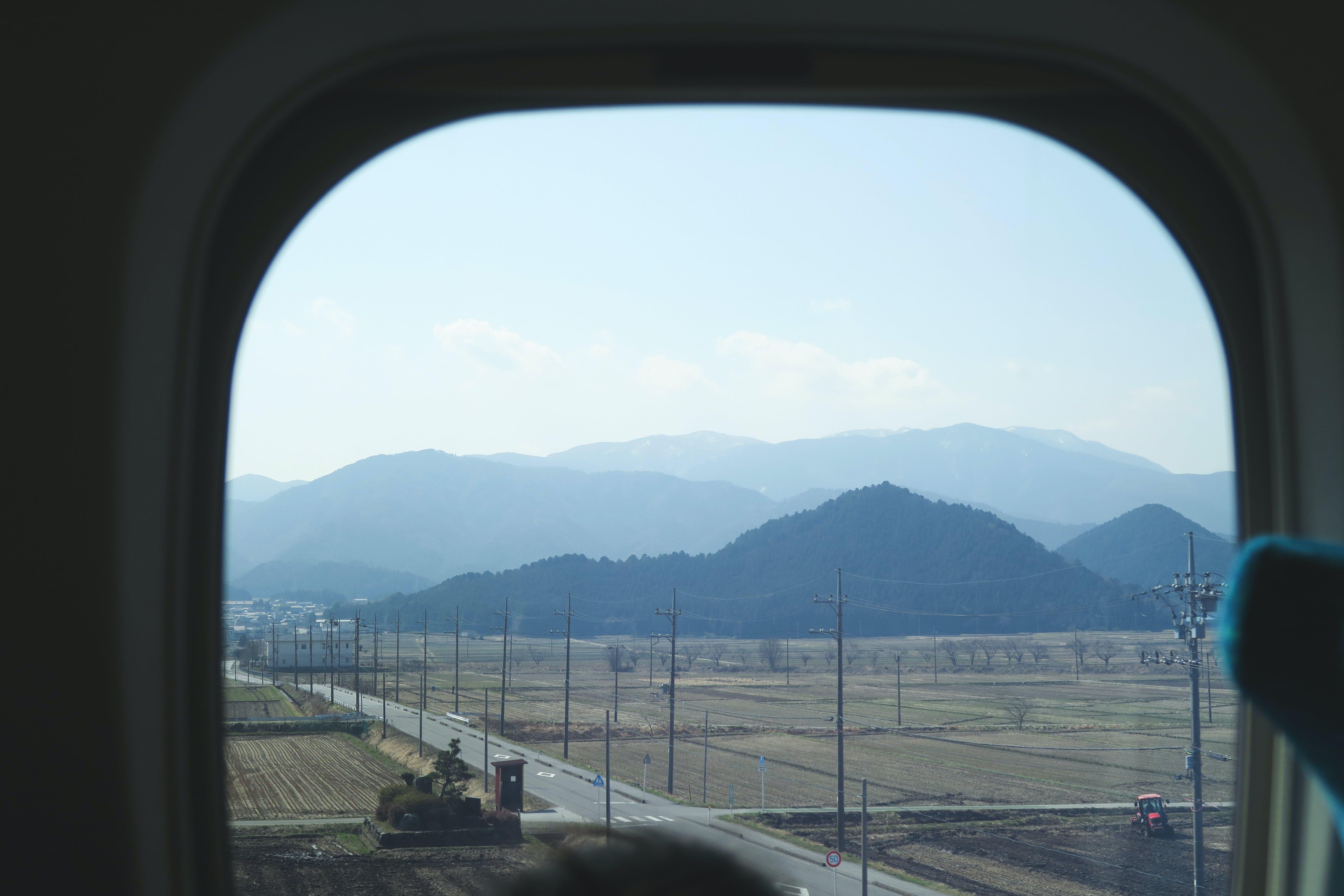 Free stock photo of japan, mountain, train