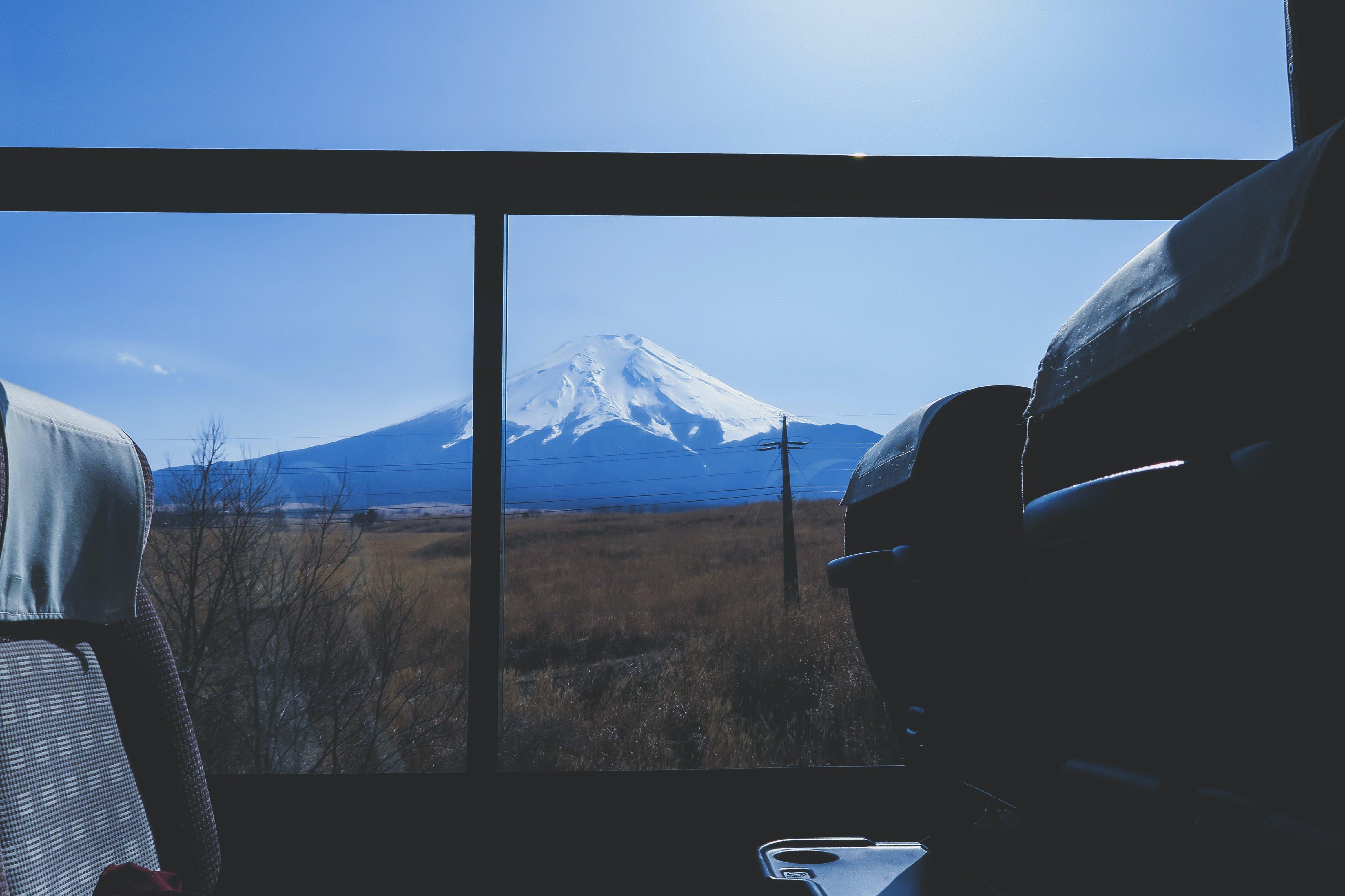 Free stock photo of bus, fuji, japan, view