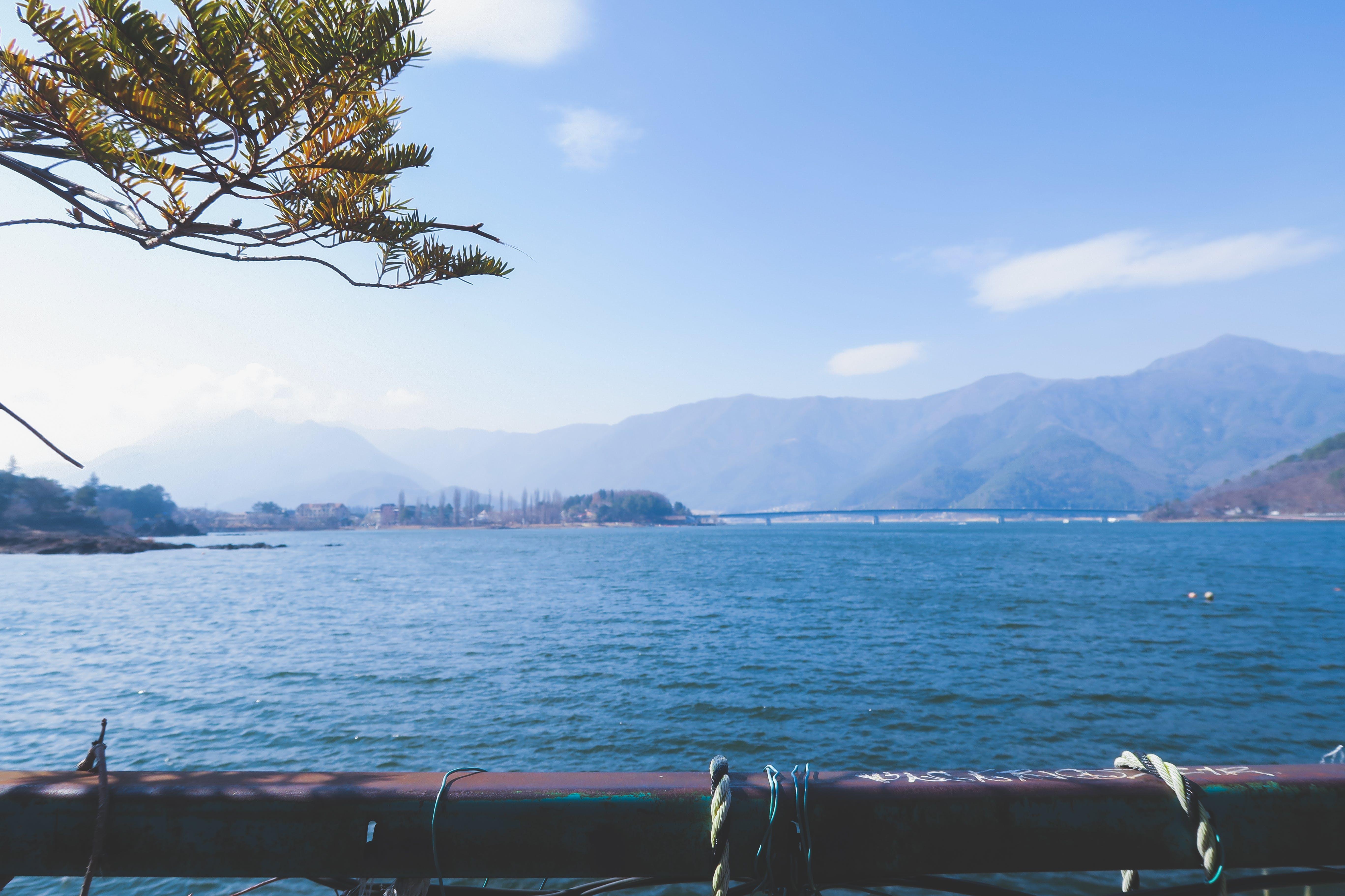 Free stock photo of japan, lake, view