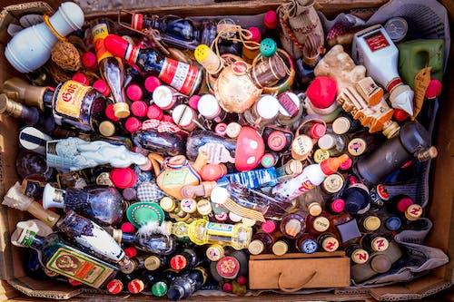 Δωρεάν στοκ φωτογραφιών με αλκοολούχα ποτά, γυάλινο μπουκάλι, έγχρωμος, εναλλακτικό φάρμακο