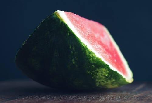 Selective Focus Photography Of Watermelon Slice