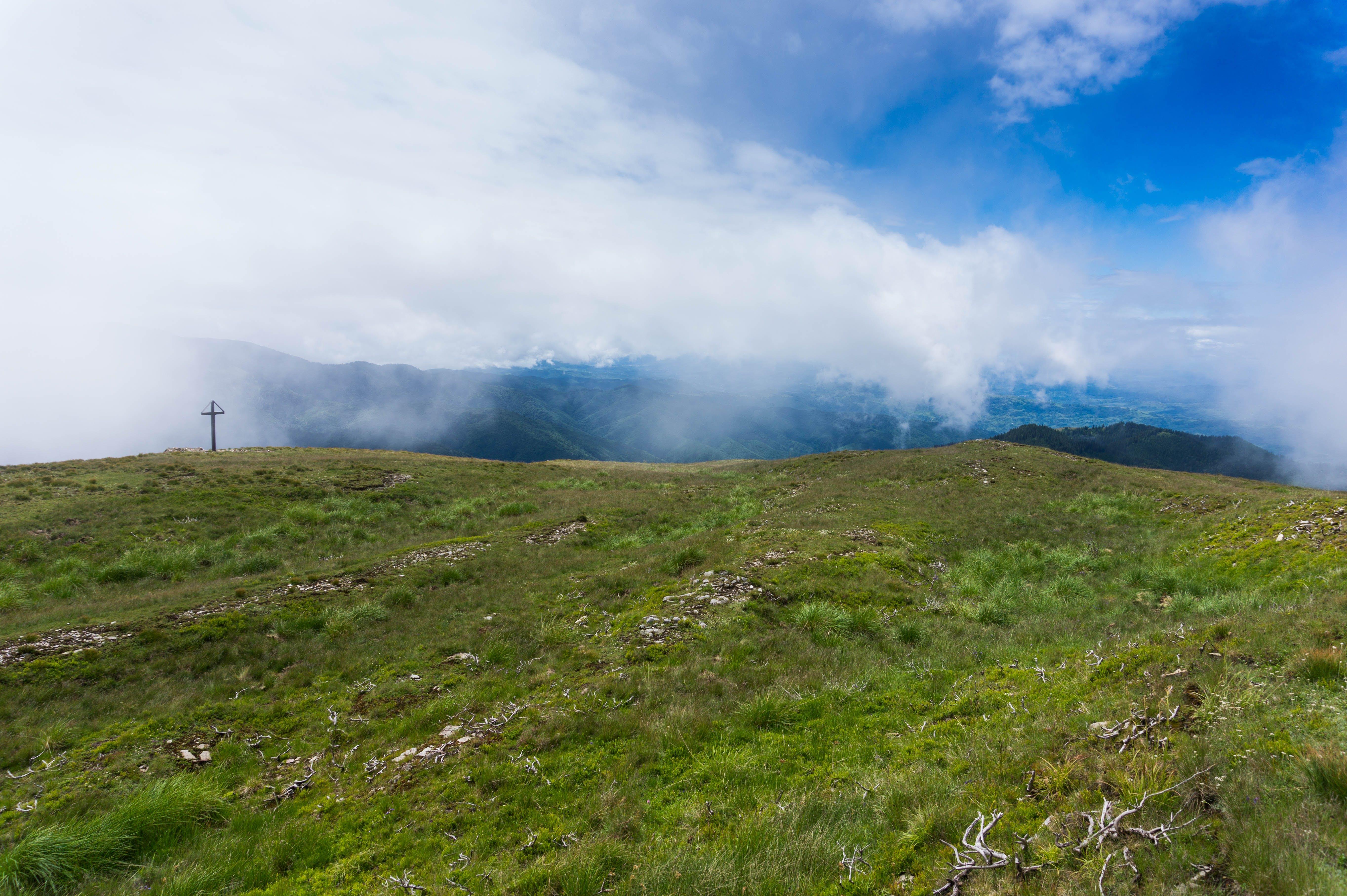Foto stok gratis alam, berkabut, bukit, gunung