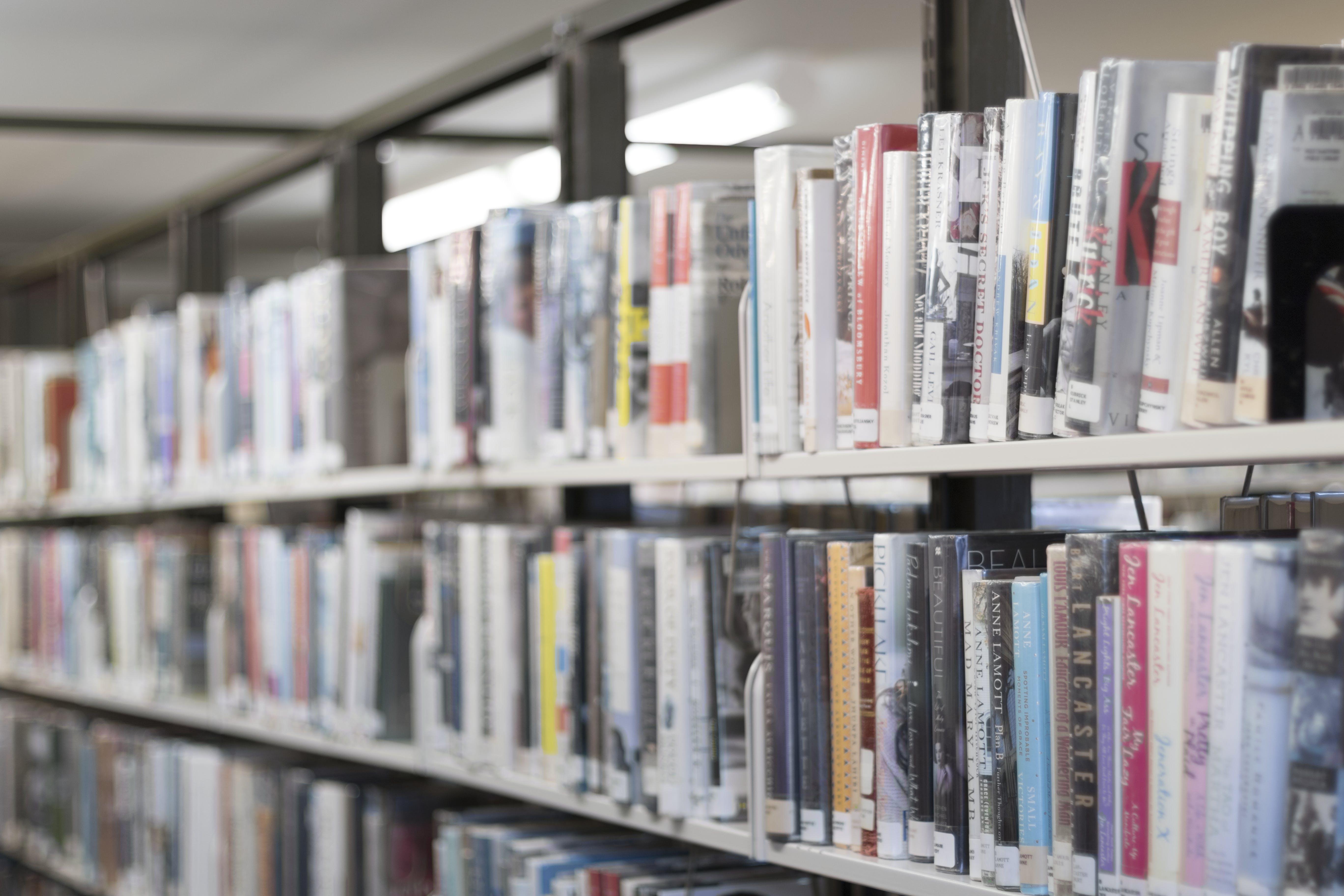 Shallow Focus Photography Of Books On Bookshelves