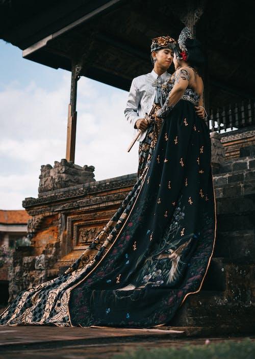 Gratis stockfoto met Aziatisch stel, Aziatische mensen, bruiloft, ceremonie