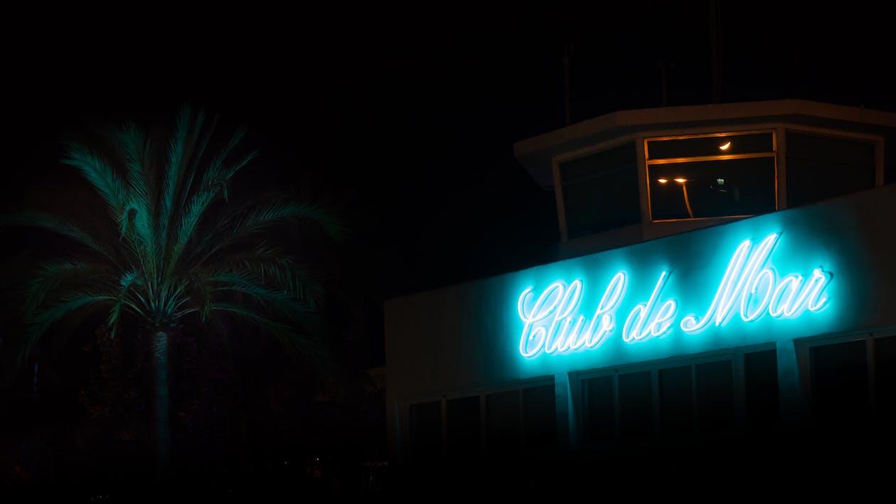 albastru, arhitectură, bar