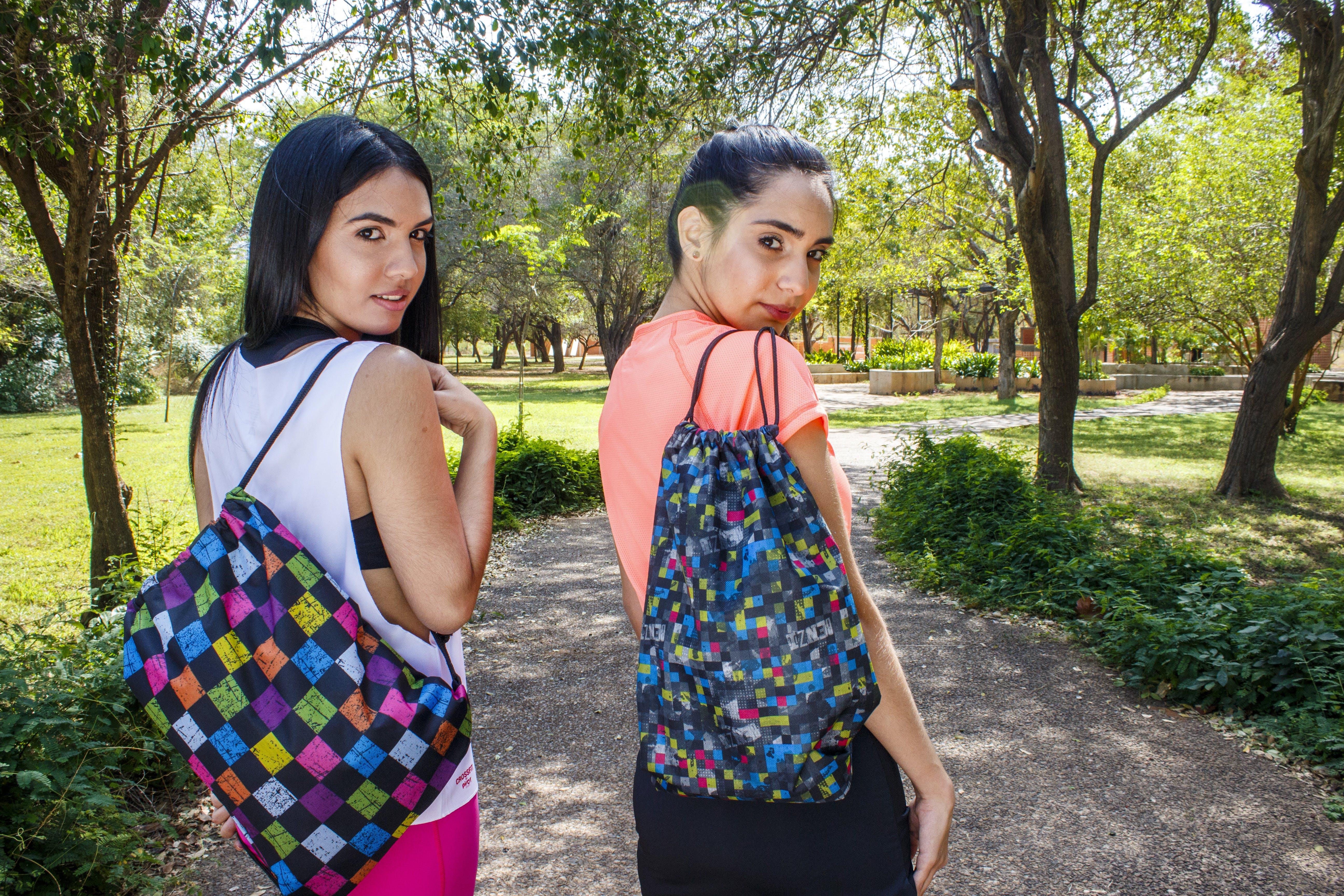 Free stock photo of backpack, latin girl, latina, morning sun