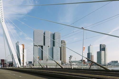 Immagine gratuita di architettura, geometria, grattacielo, olanda