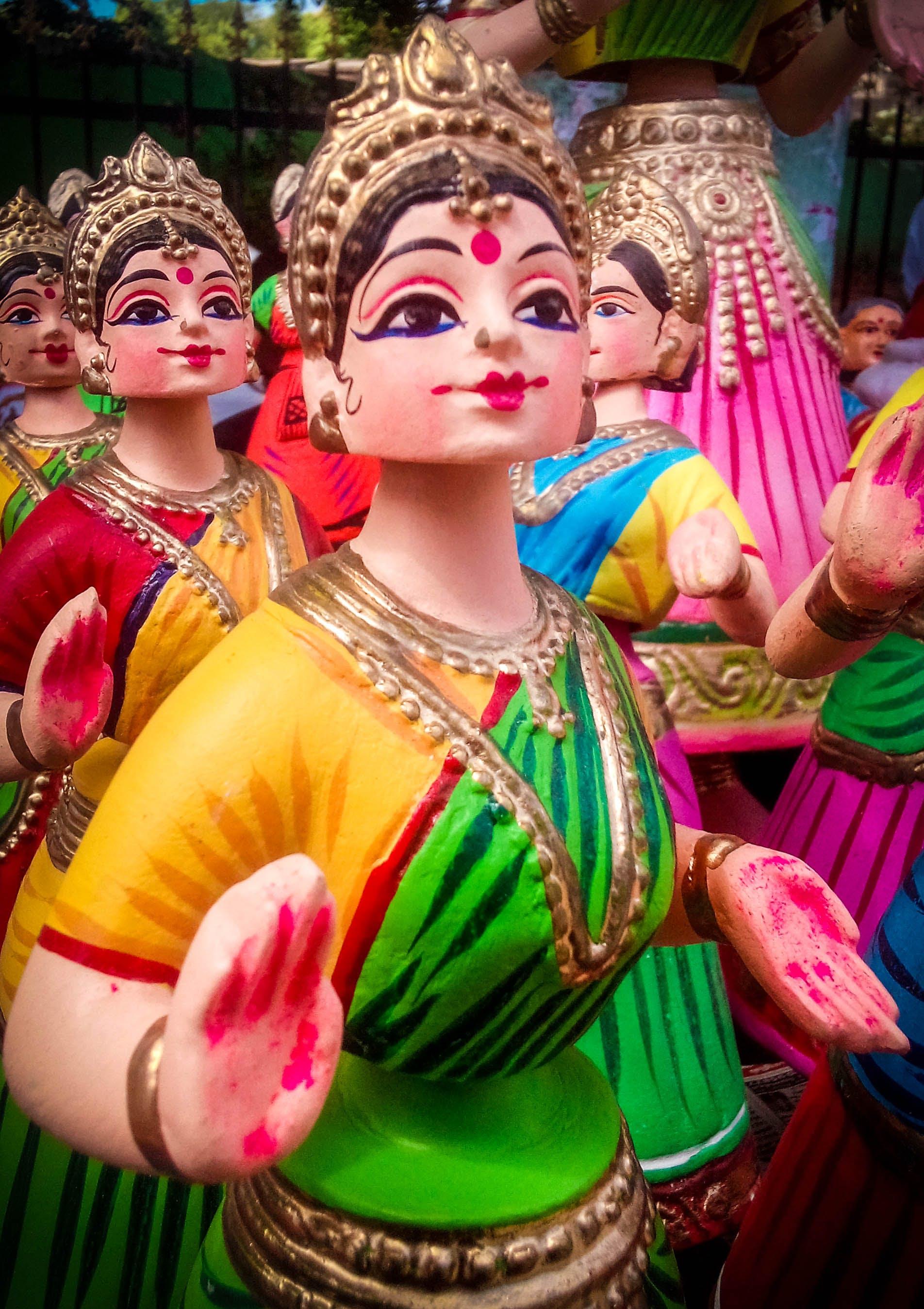 Free stock photo of doll, handmade, Thanjauvr thalaiyaati bommai, thanjavur doll