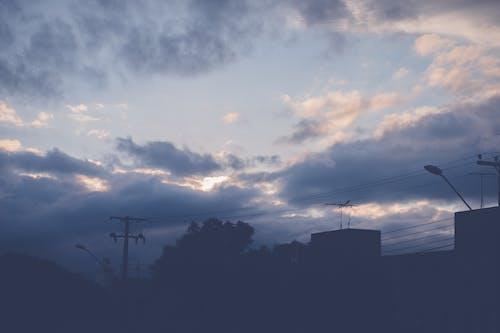 clound, nuvem, siluet, 天 的 免費圖庫相片
