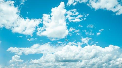 Gratis lagerfoto af blå, clound, dag, glød