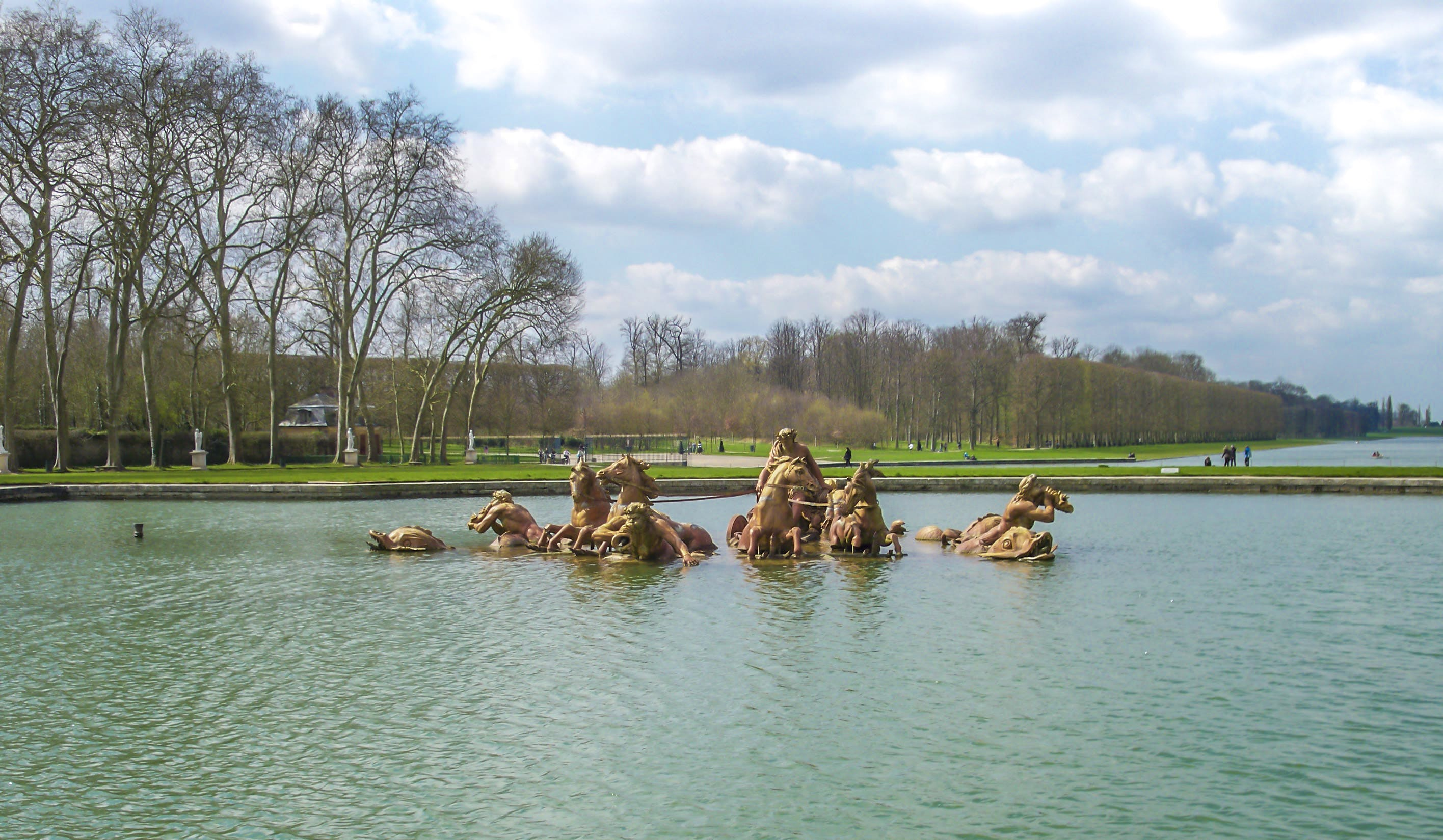 Free stock photo of chateau, horses, Versailles