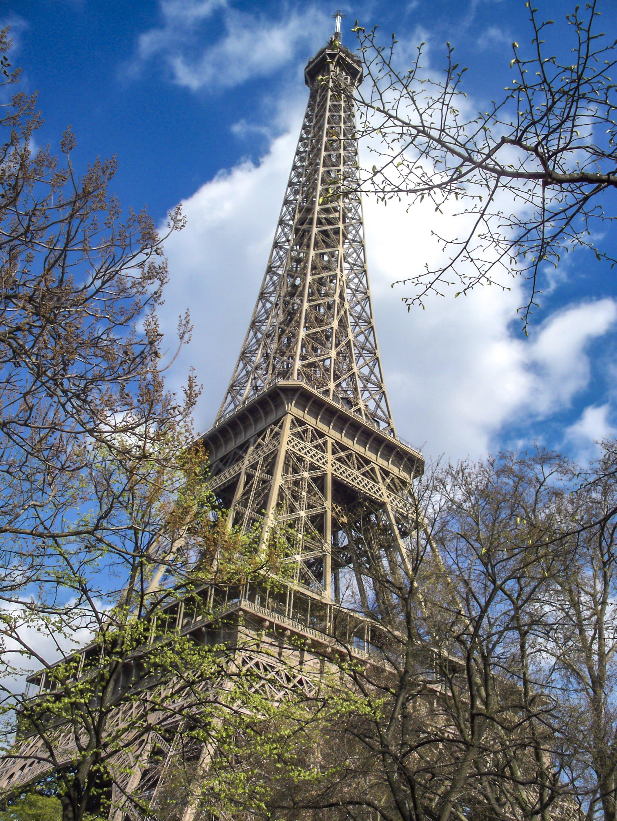 Free stock photo of eiffel tower, paris