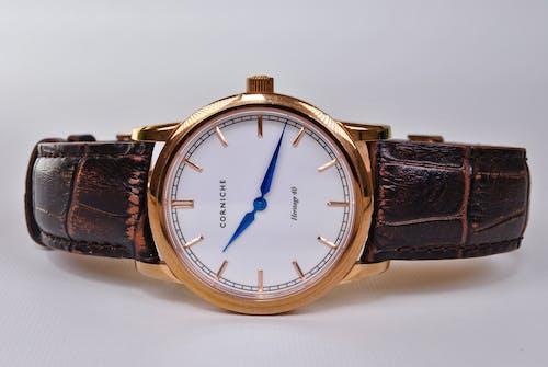 Free stock photo of Analog watch, Analogue, automatic, blue hands