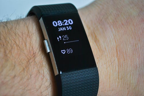 Free stock photo of close-up, countdown, digital watch, fitbit
