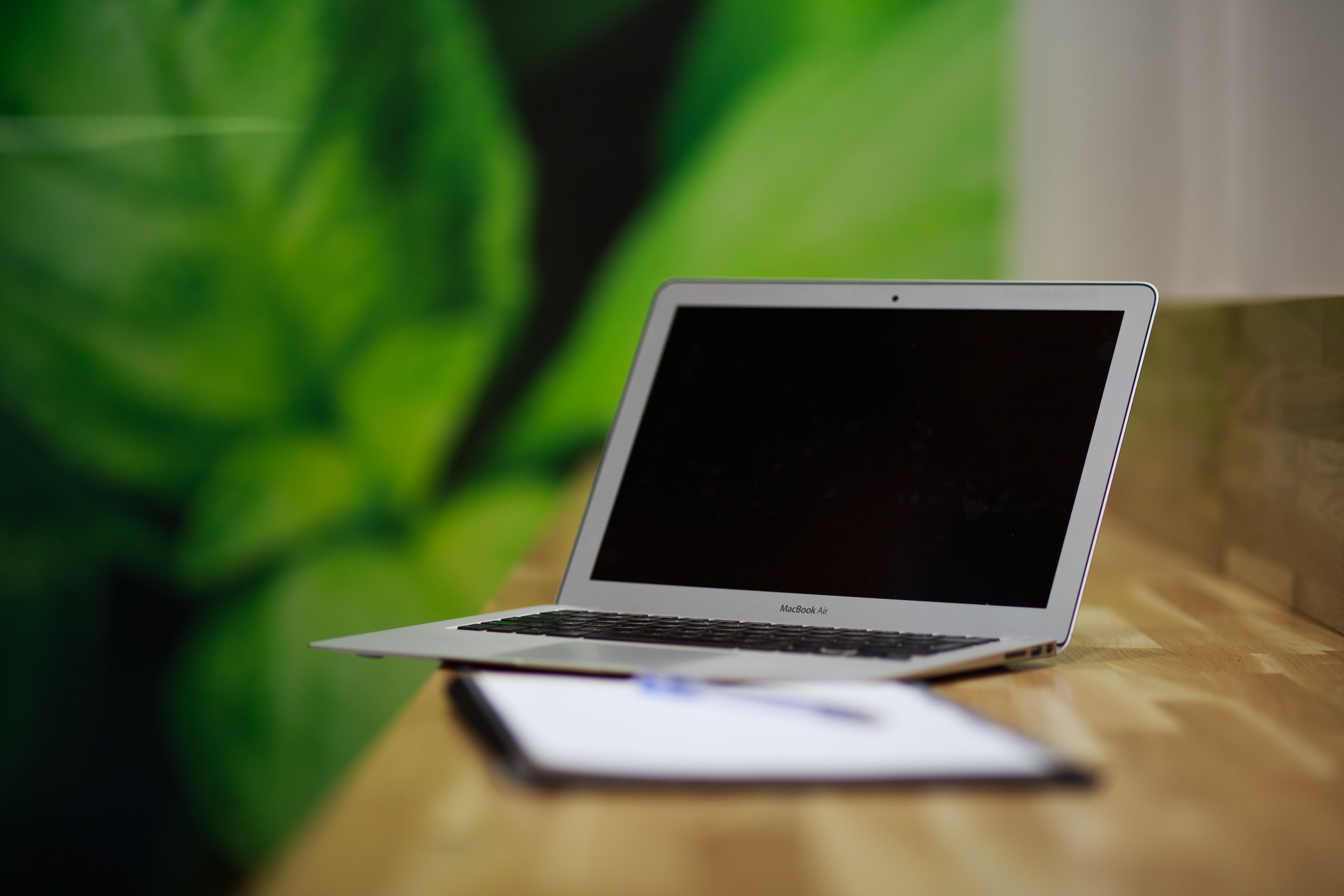 Selective Focus Photo of Macbook Air