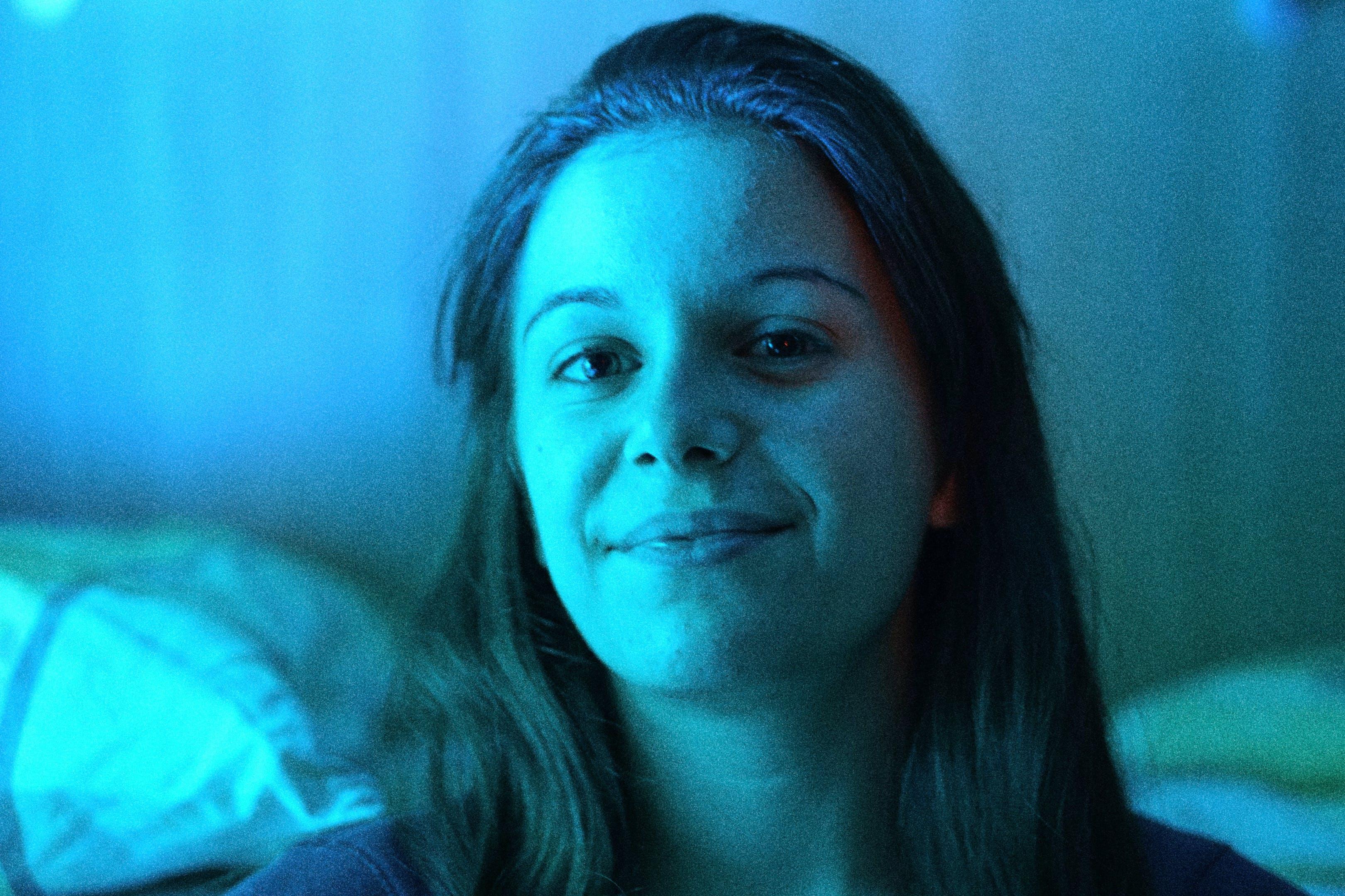 Free stock photo of blue, blue light, close-up, eyes