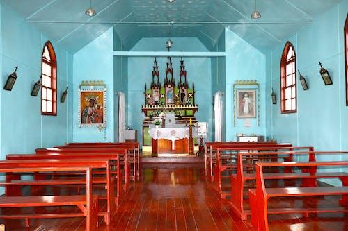 Gratis lagerfoto af cultura, estilo polonesa, igreja, interiør
