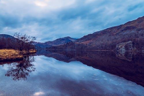 Gratis lagerfoto af aften, bjerg, bjergkæde, dagslys