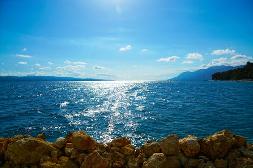 Free stock photo of baska voda, beach, blue, croatia