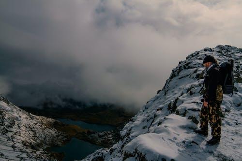 Imagine de stoc gratuită din alpinism montan, alpinist, aventură, drumeție
