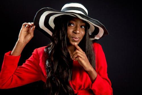 Ingyenes stockfotó afro-amerikai nő, álló kép, aranyos, divat témában
