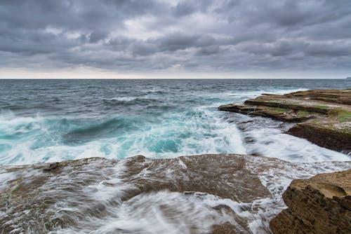 Foto d'estoc gratuïta de aigua, Austràlia, ennuvolat, horitzó