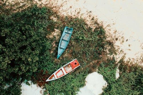 Ingyenes stockfotó csónakok, felülről, légi felvétel, madártávlat témában