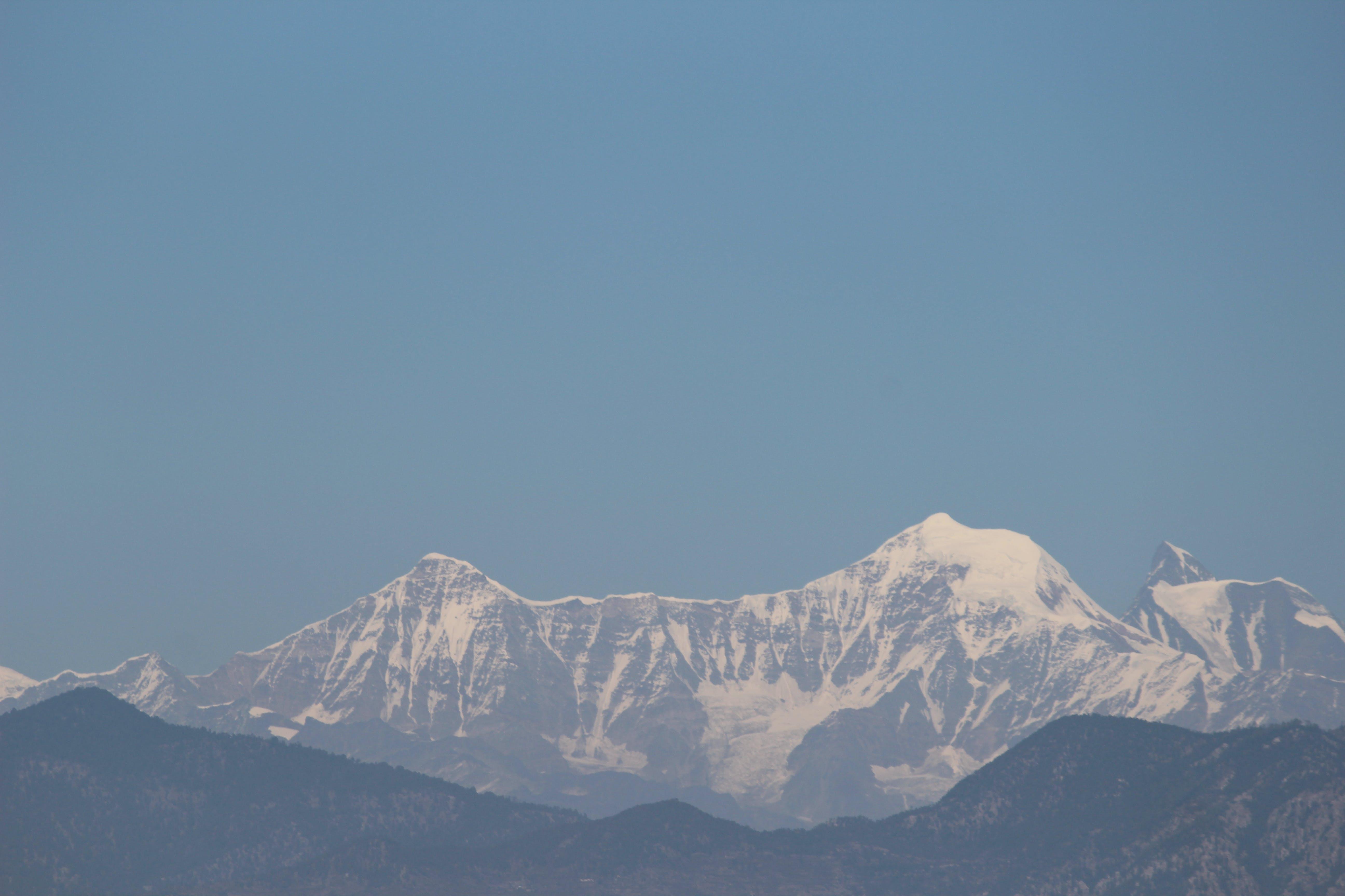 Free stock photo of beautiful view, himalaya, ice, india
