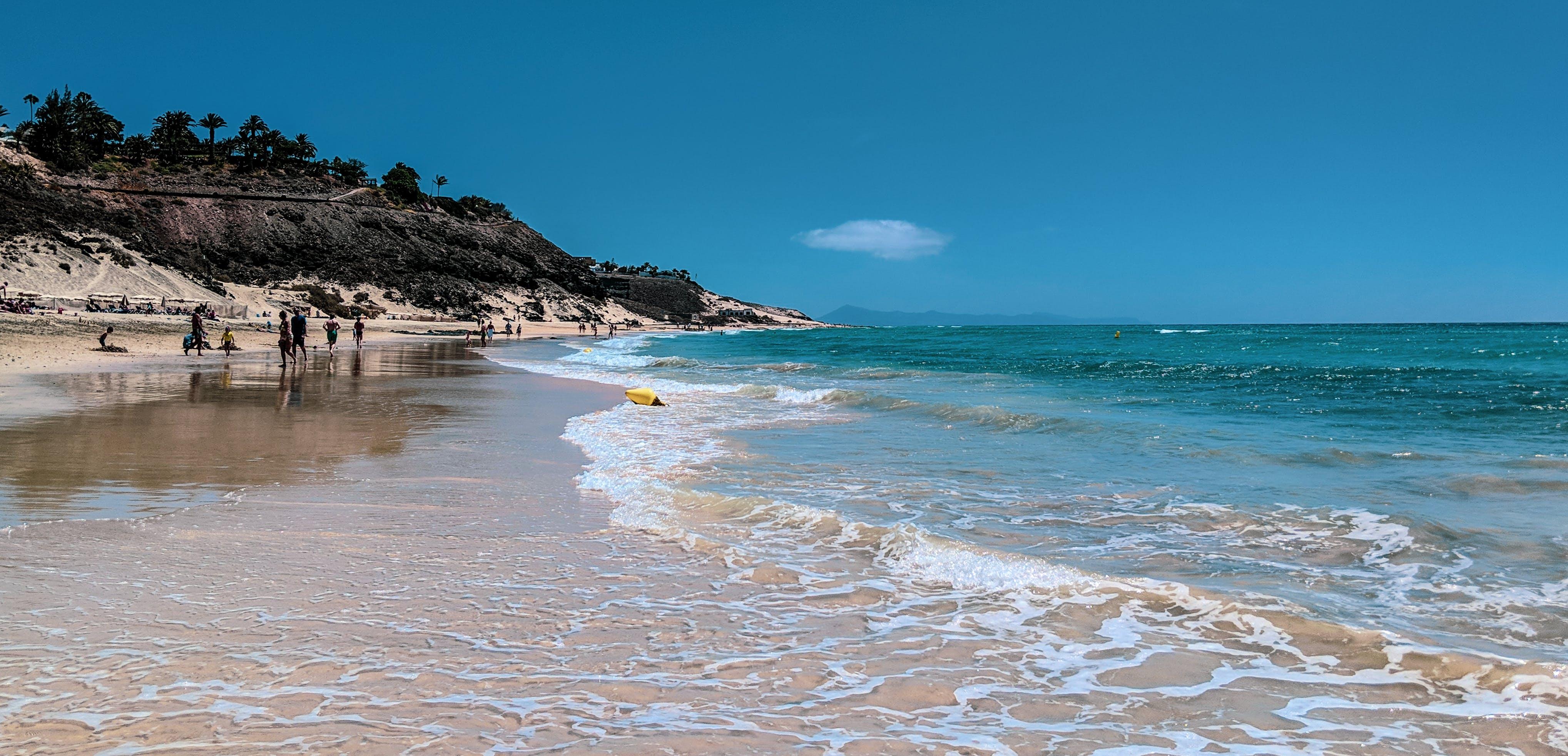 Free stock photo of beach, ocean, sky, water