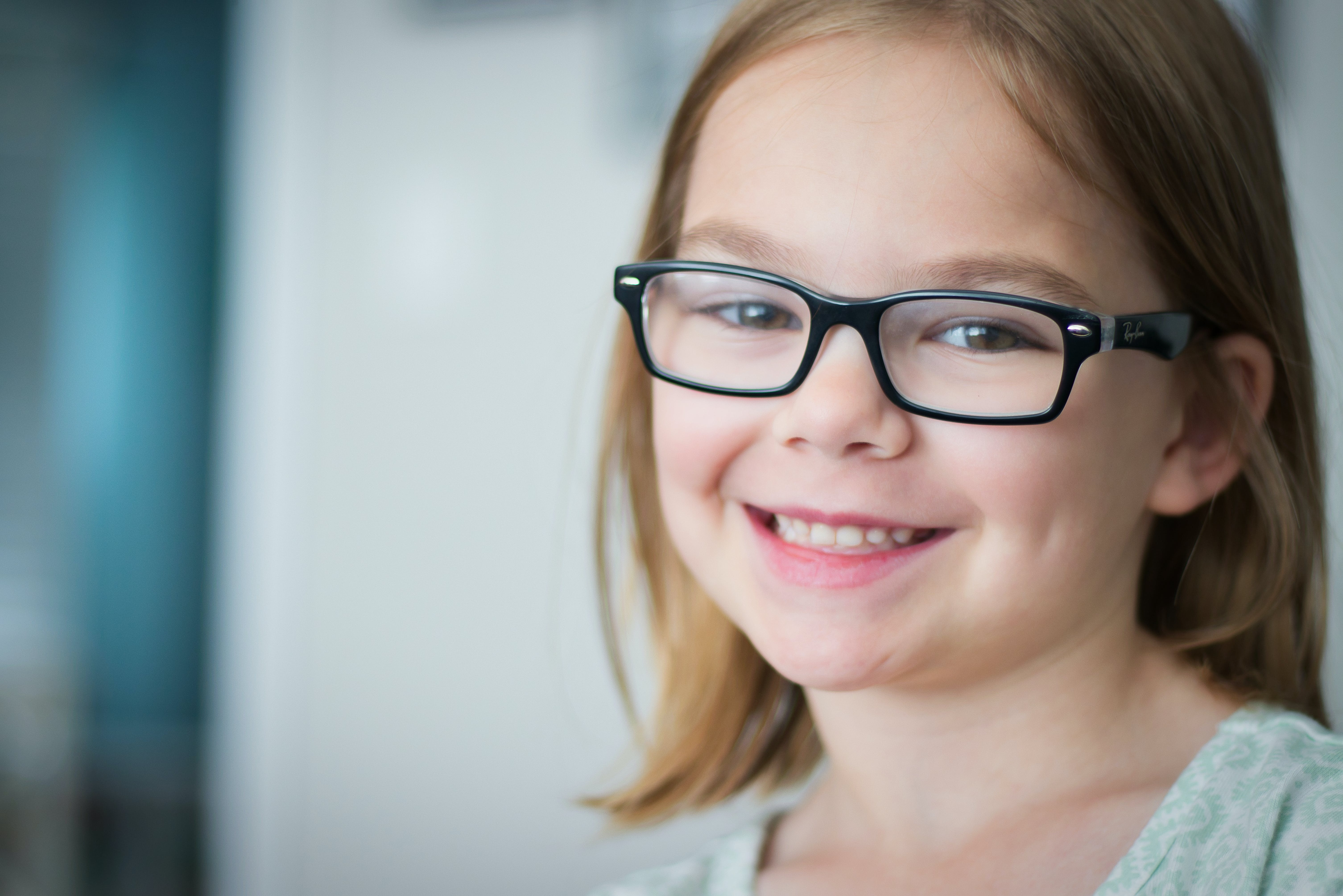 Free stock photo of child, eye glasses, black glasses