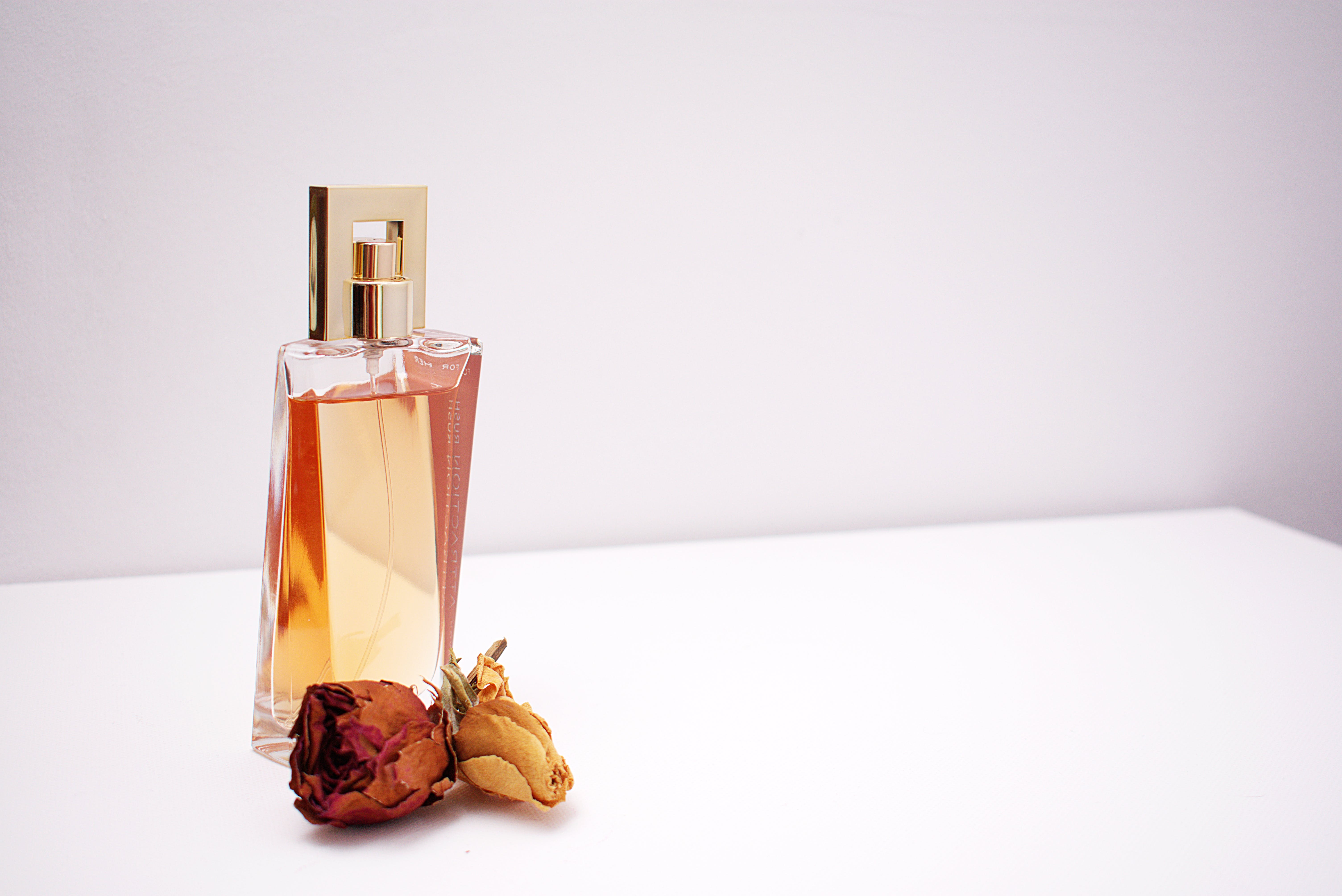 Clear Glass Perfume Bottle