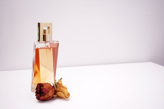 Clear Glass Perfume Bottle - The Fragrance Shop