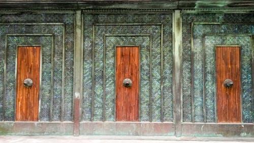 Free stock photo of brussels, door, green doors