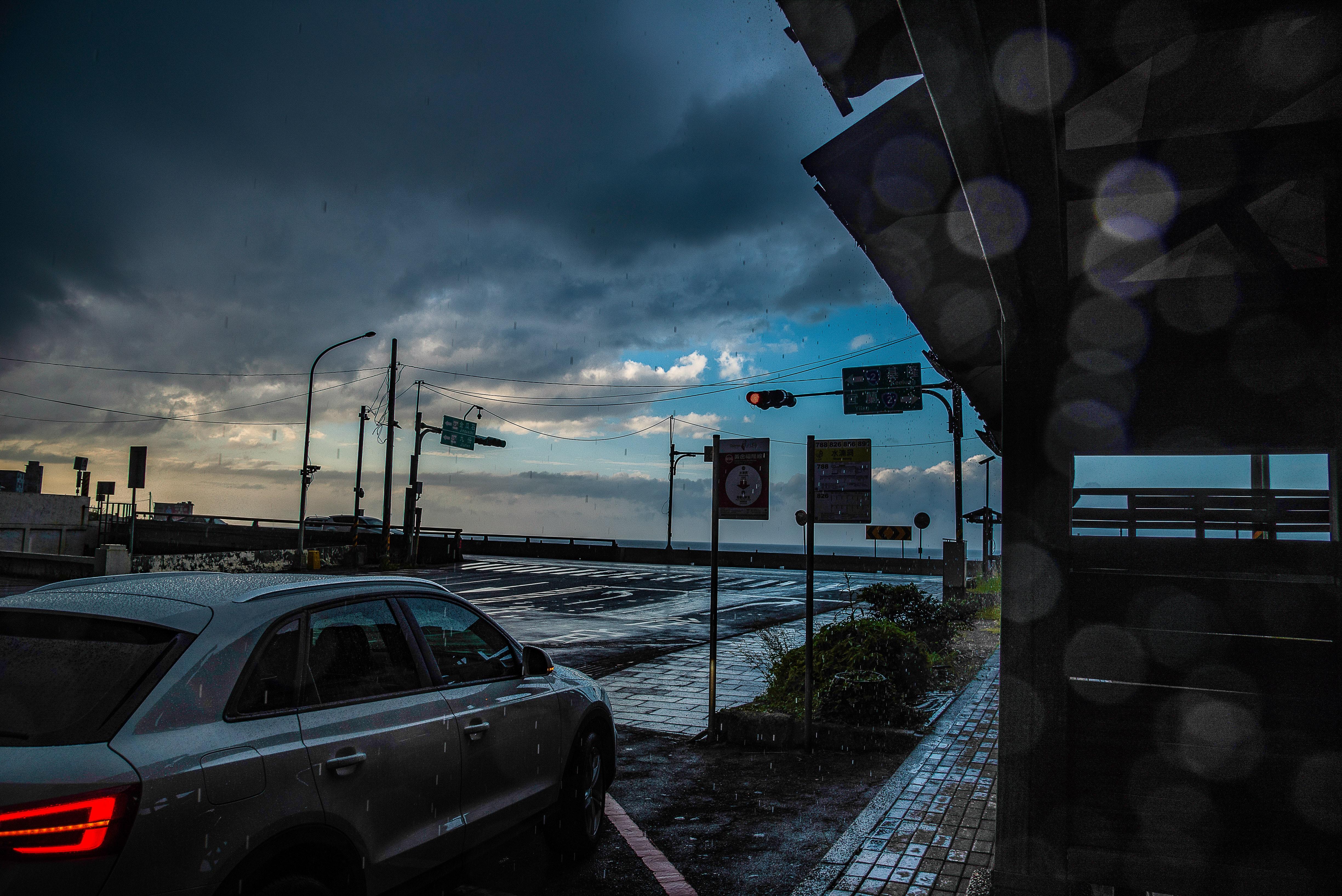 Free stock photo of jiufen, moody, rain drops