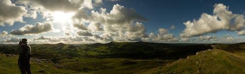 Ingyenes stockfotó domb, felhők, festői, hosszú expozíció témában