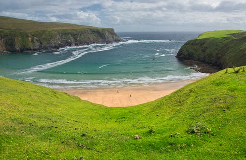 Free stock photo of beach, country, green, holiday