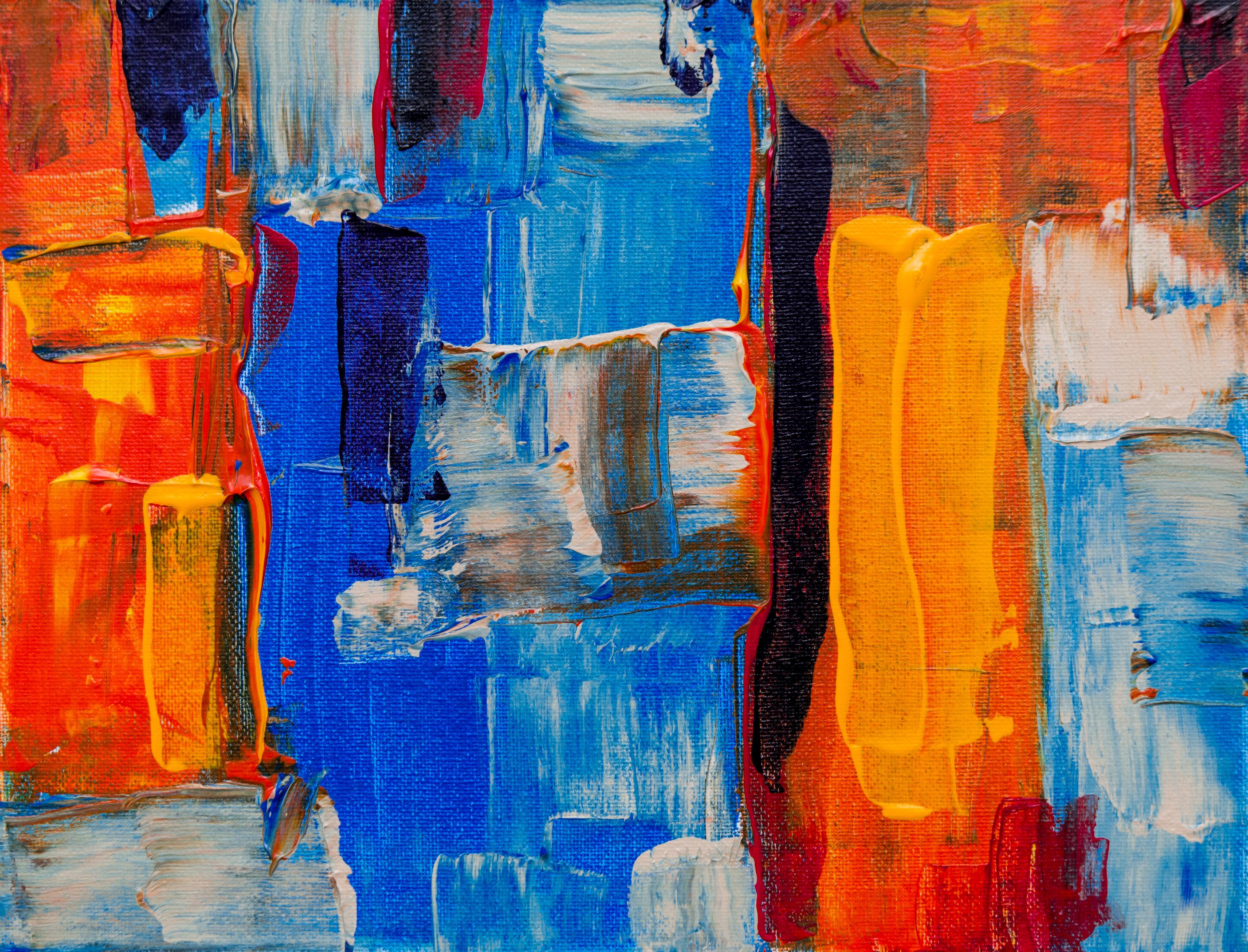 Geliefde Gratis stockfoto van abstract expressionisme, abstract schilderij #OS46