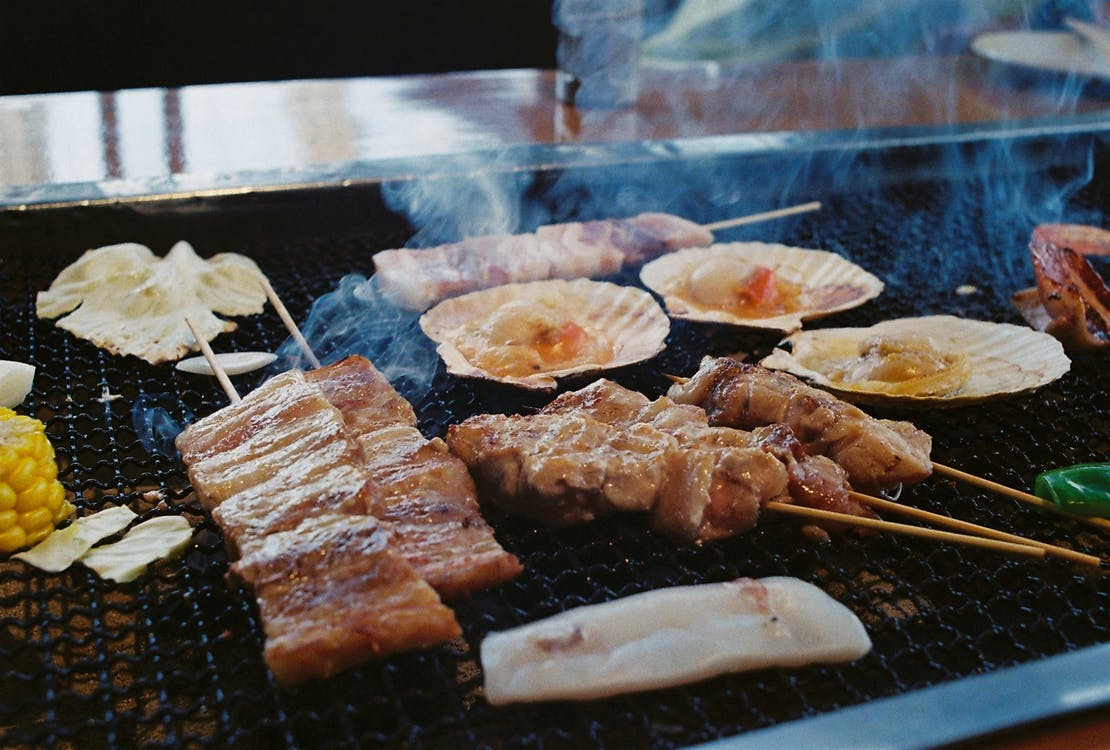 Barbecue and Baked Tahing