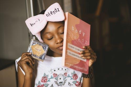 Fotobanka sbezplatnými fotkami na tému Afroameričanka, bloger, bodyblendz, čelenka