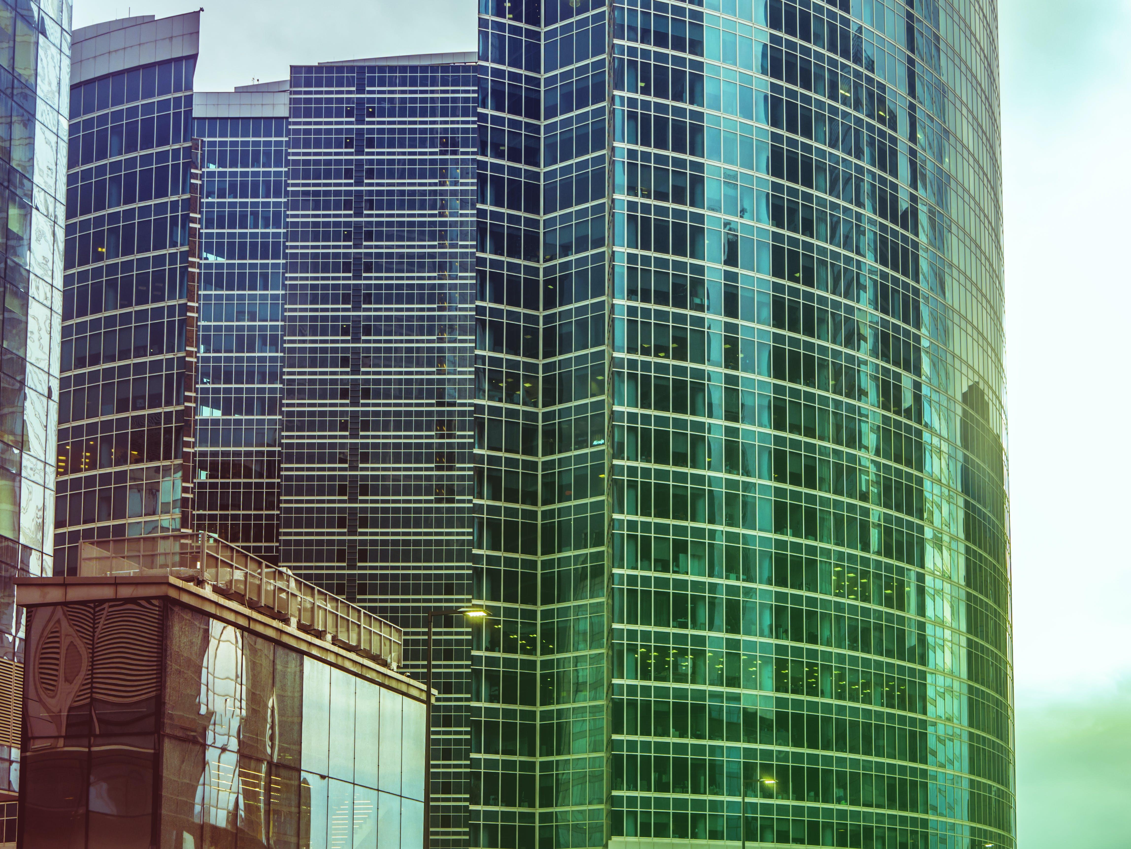 Photo of Glass Window Building