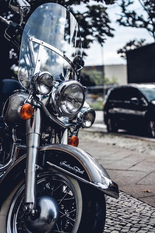Photo of Black and Gray Touring Motorcycle