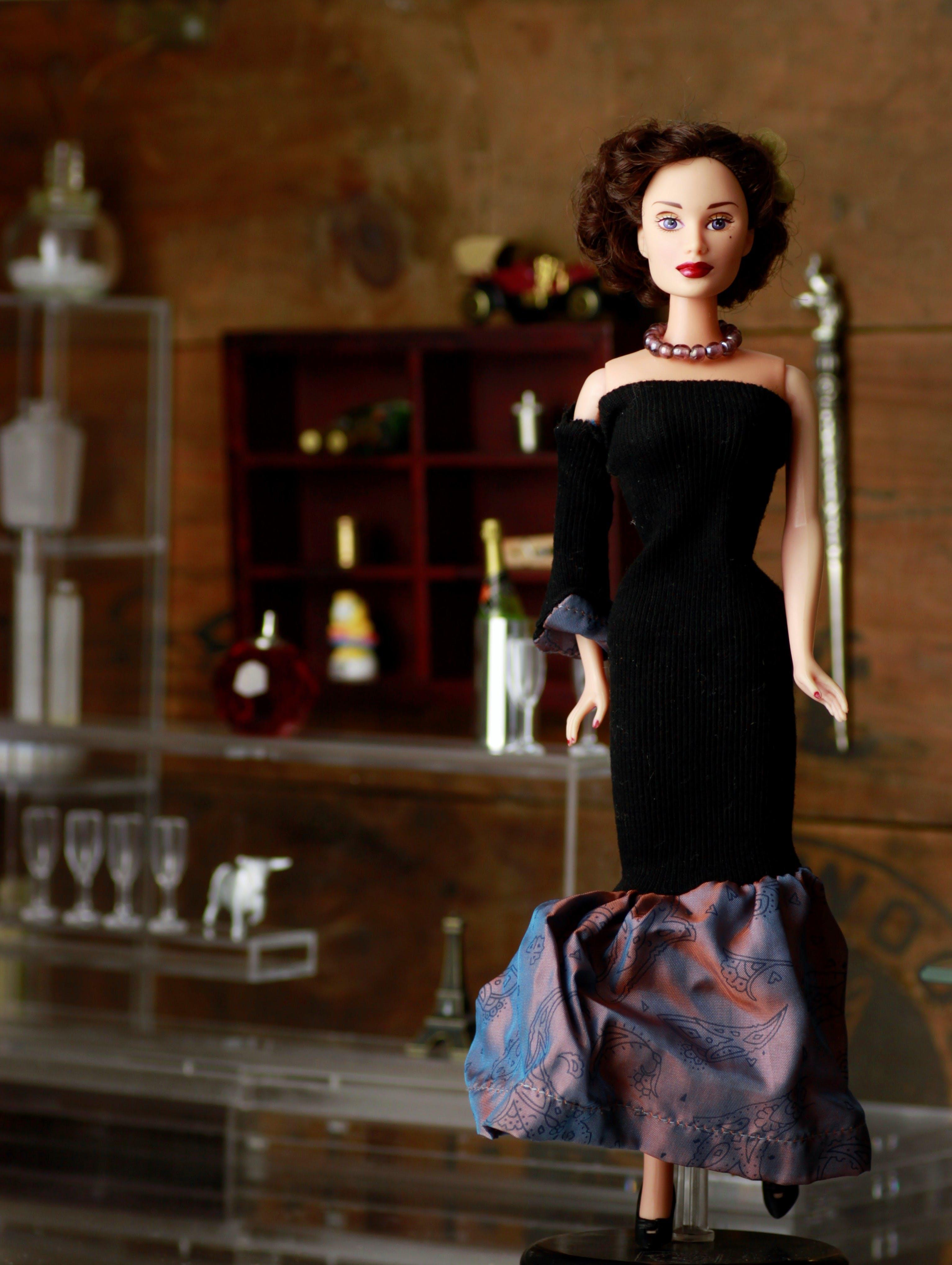 Black Dressed Doll