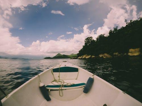 Základová fotografie zdarma na téma barco, gopro, mar, modrá obloha