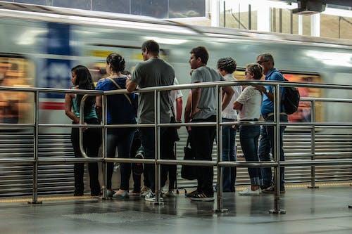 Základová fotografie zdarma na téma estaã§ã £ o da sã ©, metro, nástupiště metra, trénovat