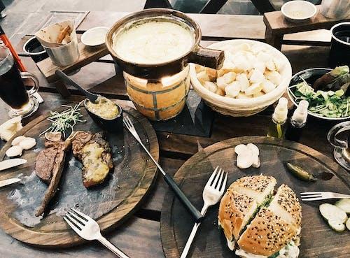 Fotos de stock gratuitas de bifurcación, bifurcaciones, bistec, carne de res