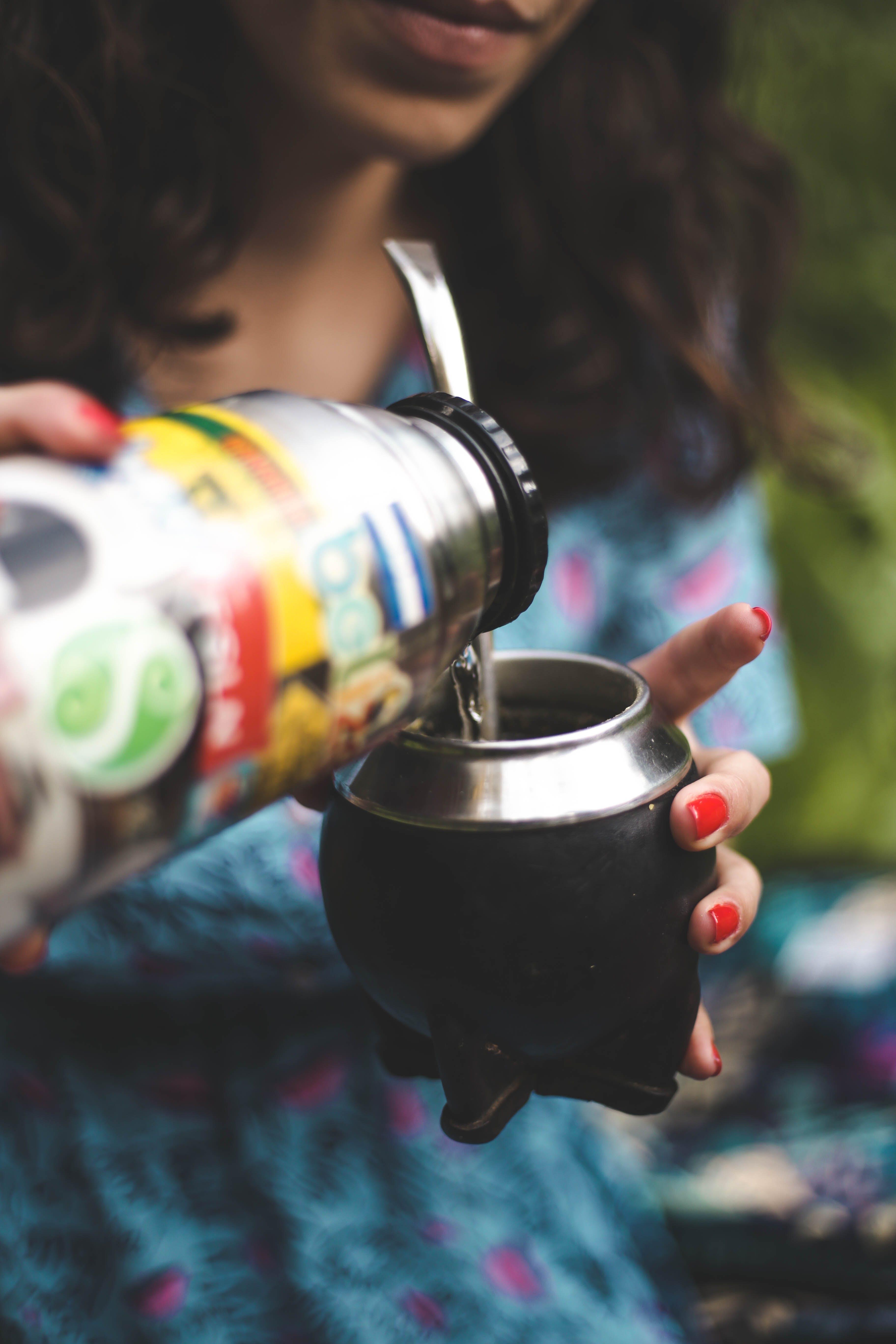 cà phê, cốc, mặc